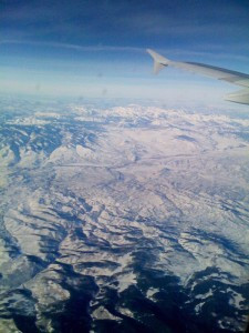 View from window seat - Colorado, I think