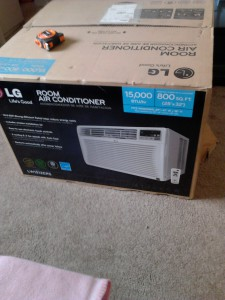 LG, room air conditioner, cooling