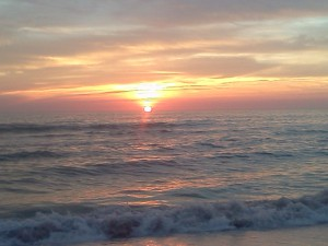sunset, Anna Maria Island, Florida, Gulf of Mexico, beach