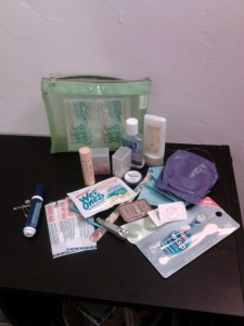 Moxie's Mini Drugstore Kit, personal hygiene, first aid, emergency kit