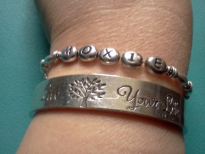 moxie, live your life, bracelets, inspirational jewelry