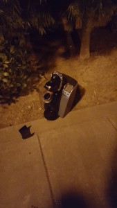 weird things on street, broken Keurig, coffee maker, coffee