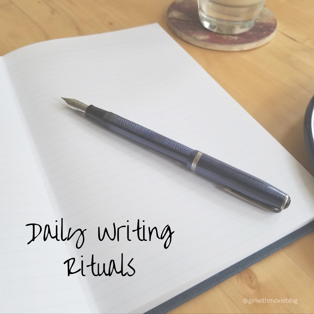 daily writing rituals, writing, morning pages, journaling, daily journaling rituals