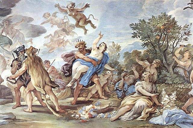 Persephone, rape of Persephone, abduction of Persephone, Greek mythology